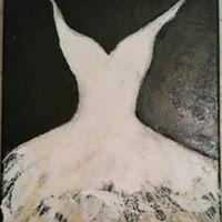 La petite Robe Blanche dorée