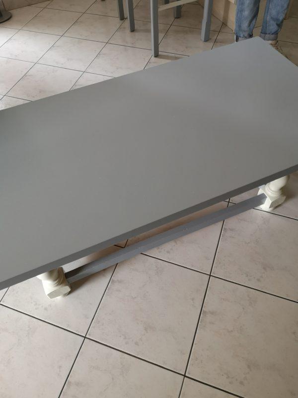 Table de salon modernisée